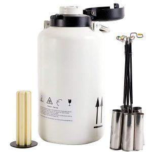 dewar o contenedor de nitrogeno liquido